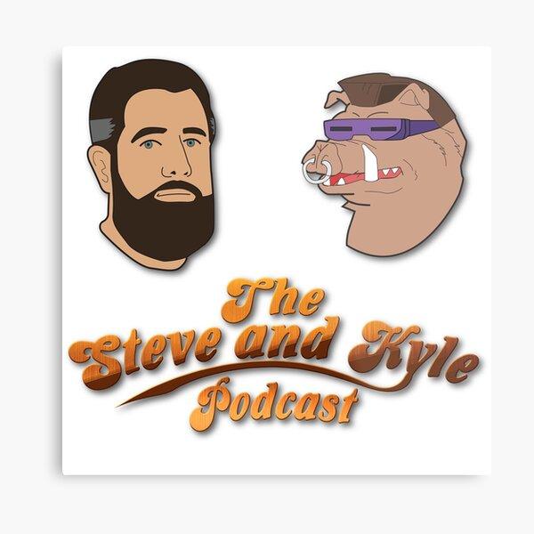 Steve and Bebop Metal Print