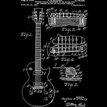 Gibson Les Paul Guitar Patent by MarkCompton