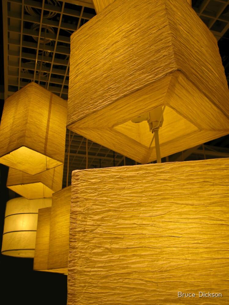 lanterns 1 by Bruce  Dickson
