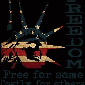American Freedom Design - Thank You Veterans Day and 4th of July by TrndSttr