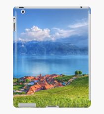 Terraced Vineyards of Lavaux UNESCO iPad Case/Skin