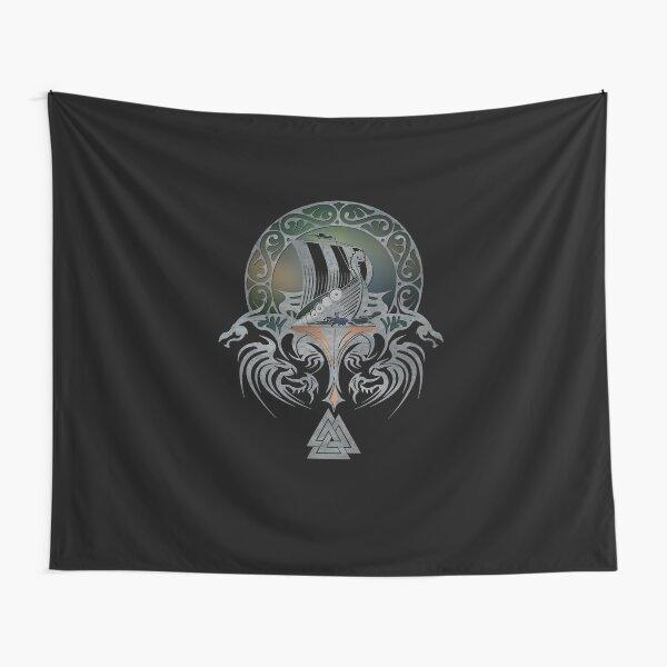 Viking Warrior Tapestry