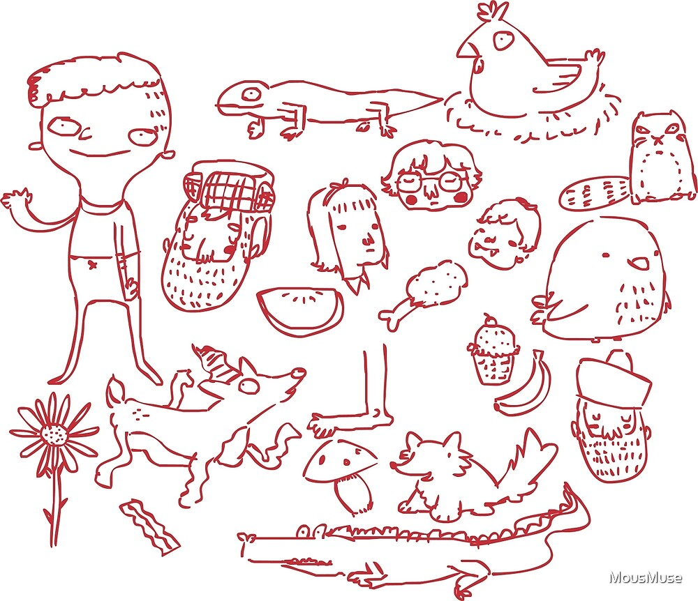 Doodles by MousMuse