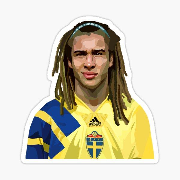 Henrik Larsson Sweden Design Sticker