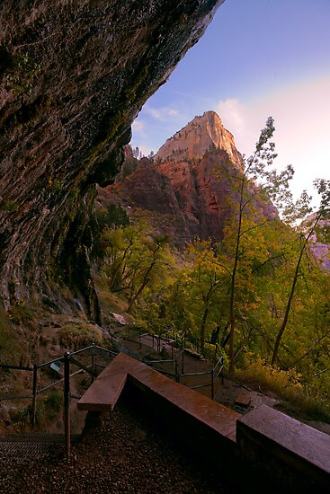 Weeping Rock, Zion by Zane Paxton