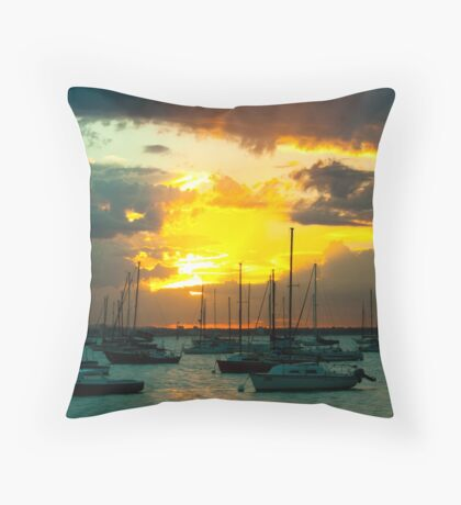Williamstown Sunrise Throw Pillow