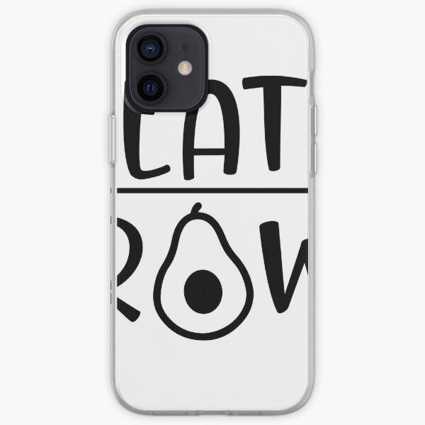 Eat Raw sticker iPhone Soft Case
