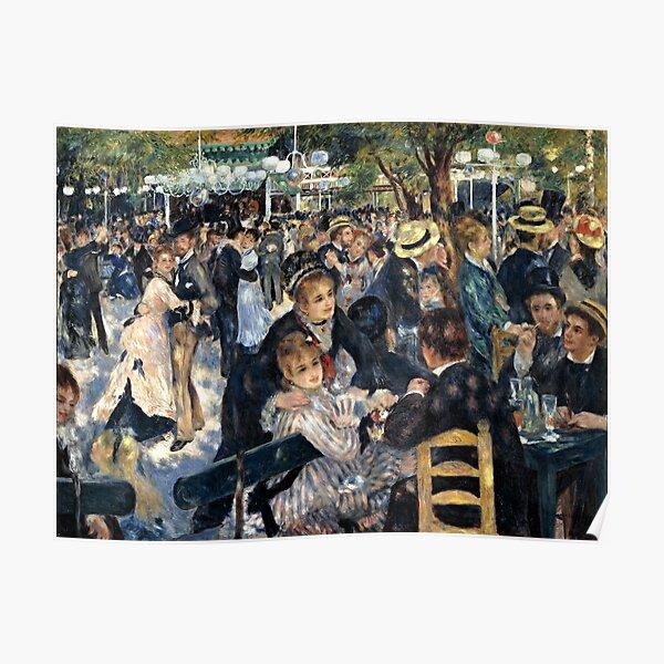 Renoir - Bal du Moulin de la Galette Poster
