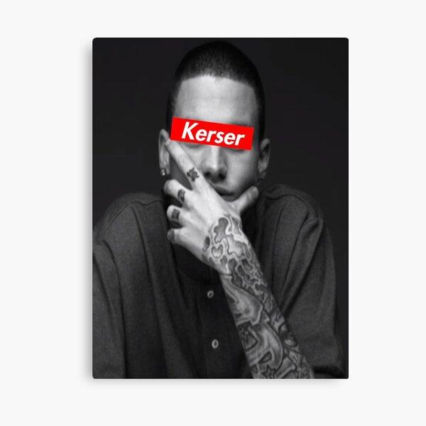 Kerser Supreme Logo Canvas Print