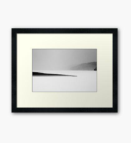 Reservoir I Framed Print