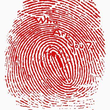 Fingerprint red by artCEW