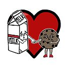 Milk and Cookie Love by blakcirclegirl
