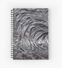 Lava Stripe Spiral Notebook