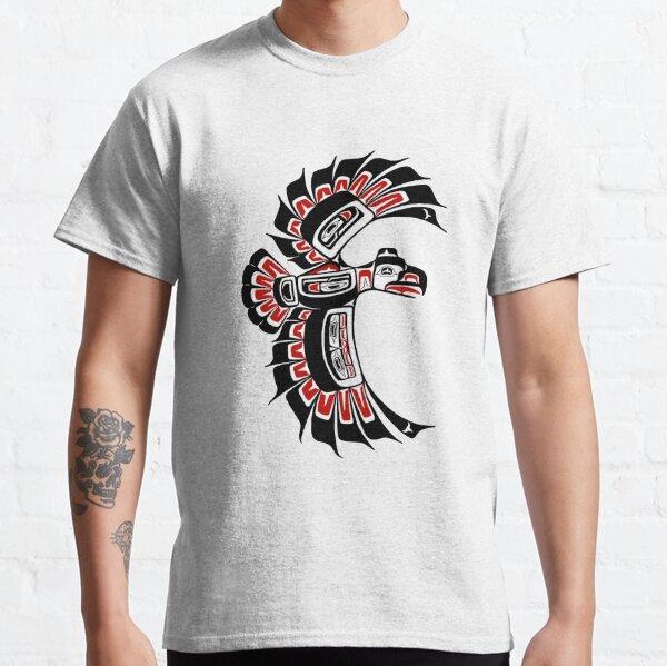 Tlingit Tsimshian Eagle, style PNW Alaska T-shirt classique