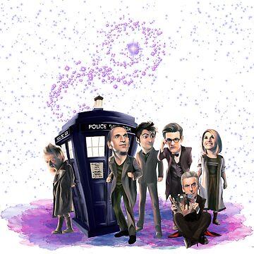 Doctor Who: Cartoon by jephwho