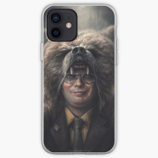 Dwight Schrute The Office Bear Head (Rainn Wilson) iPhone Soft Case