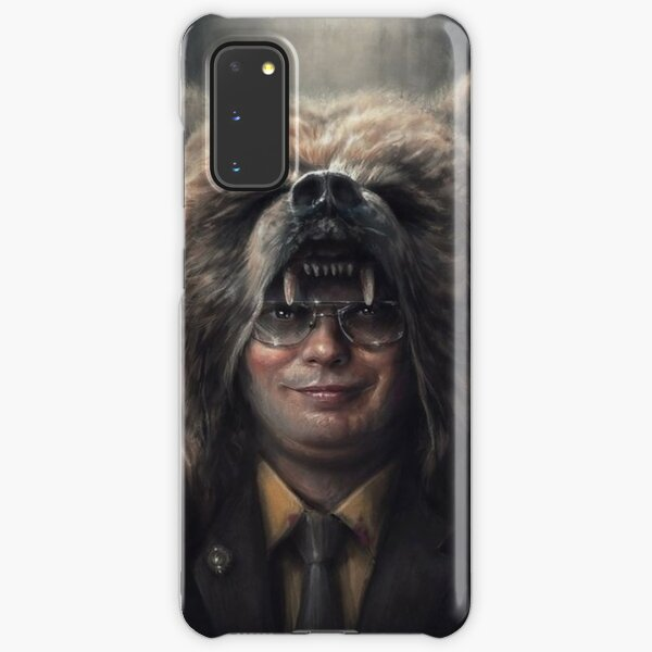 Dwight Schrute The Office Bear Head (Rainn Wilson) Samsung Galaxy Snap Case