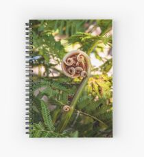 Fiddlehead Spiral Notebook