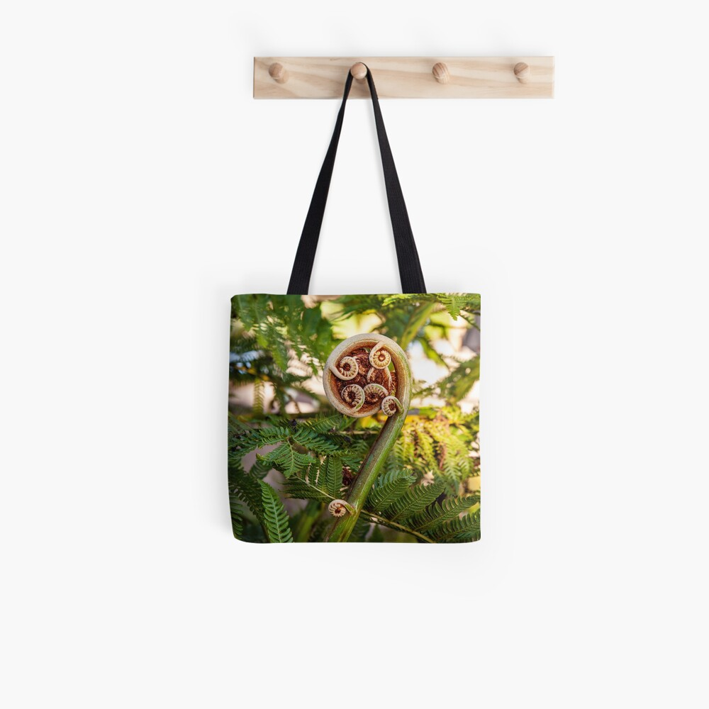 Fiddlehead Tote Bag