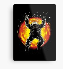 Lost in the space Metal Print