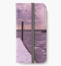 Winter Dock iPhone Wallet/Case/Skin