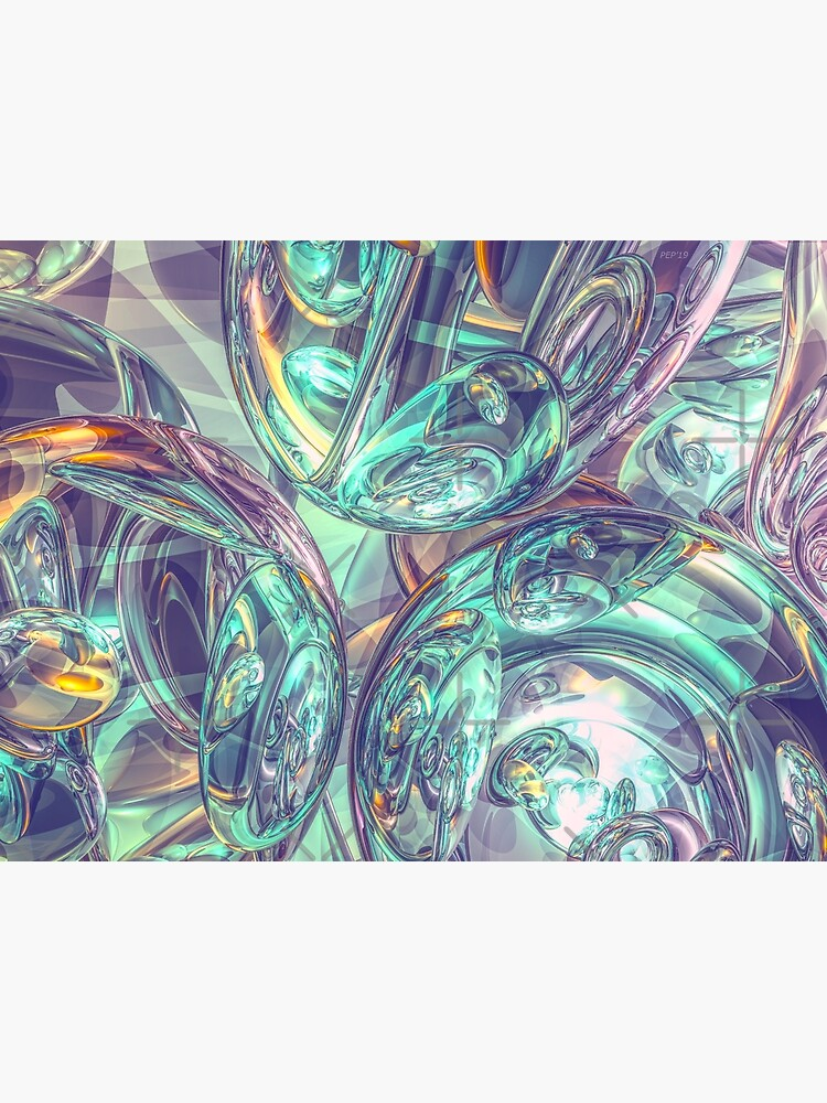 Reflections of 3D Mirrors by perkinsdesigns