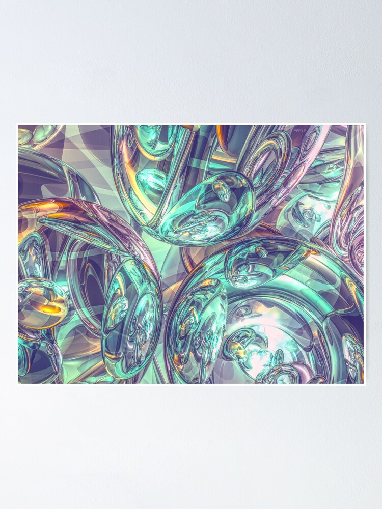 Alternate view of Reflections of 3D Mirrors Poster