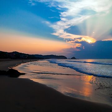 Zipolite Sunrise by codyjoseph