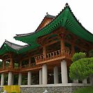 Bongeunsa Temple in Seoul by Laurel Talabere