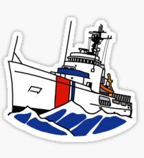 USCG 210 Reliance Class Cutter Sticker