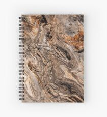 Rippling Stone Spiral Notebook