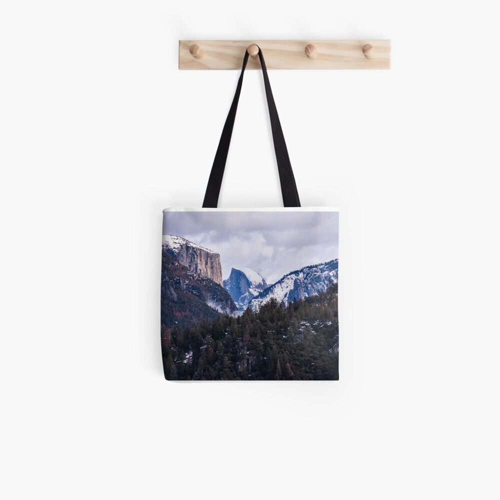 Yosemite Winter Tote Bag