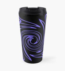 Topsy Turvy Twisting Hearts Beating Travel Mug