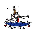 Coast Guard Set Sail 82 WPB by AlwaysReadyCltv