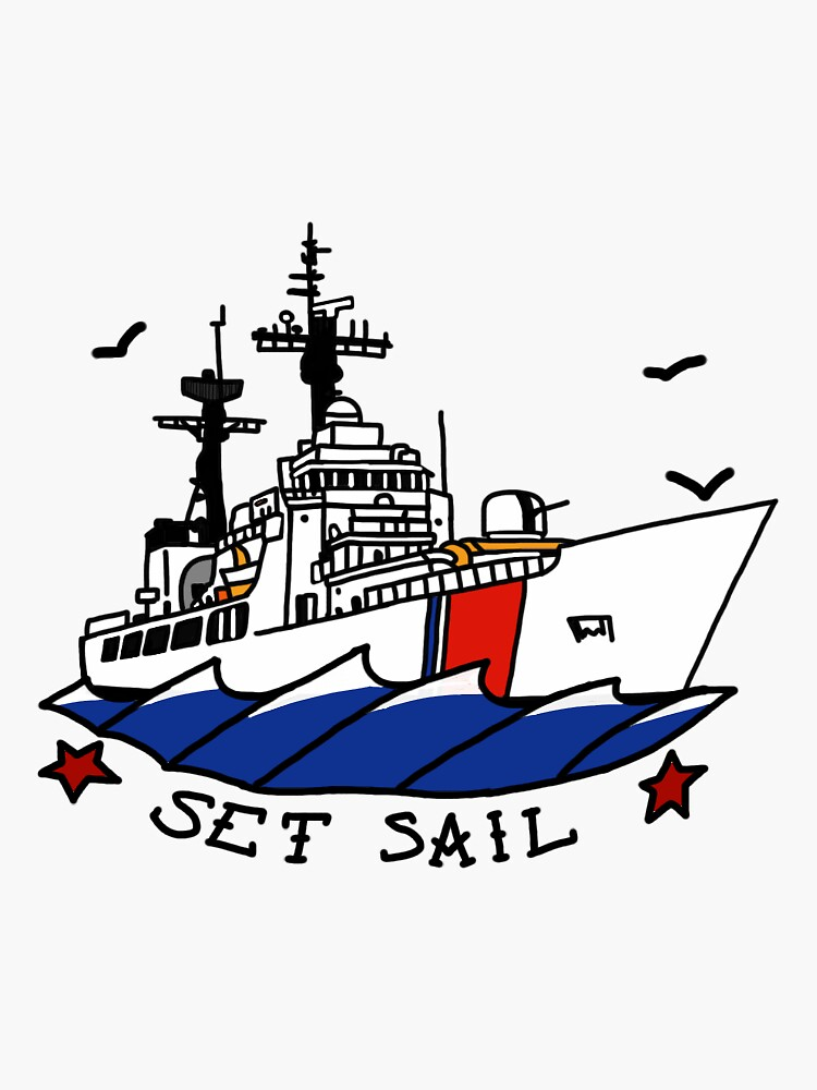 Coast Guard 378 Set Sail by AlwaysReadyCltv