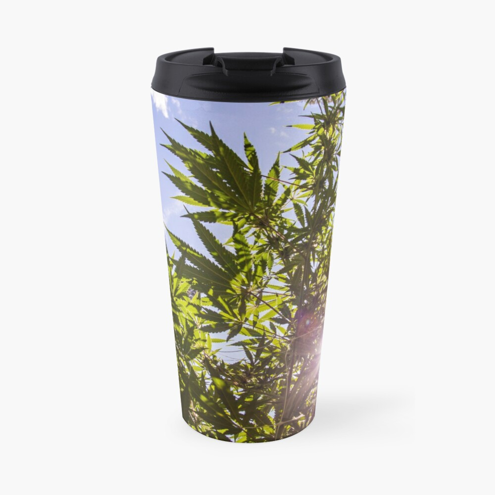 Sunshine Ganja Travel Mug