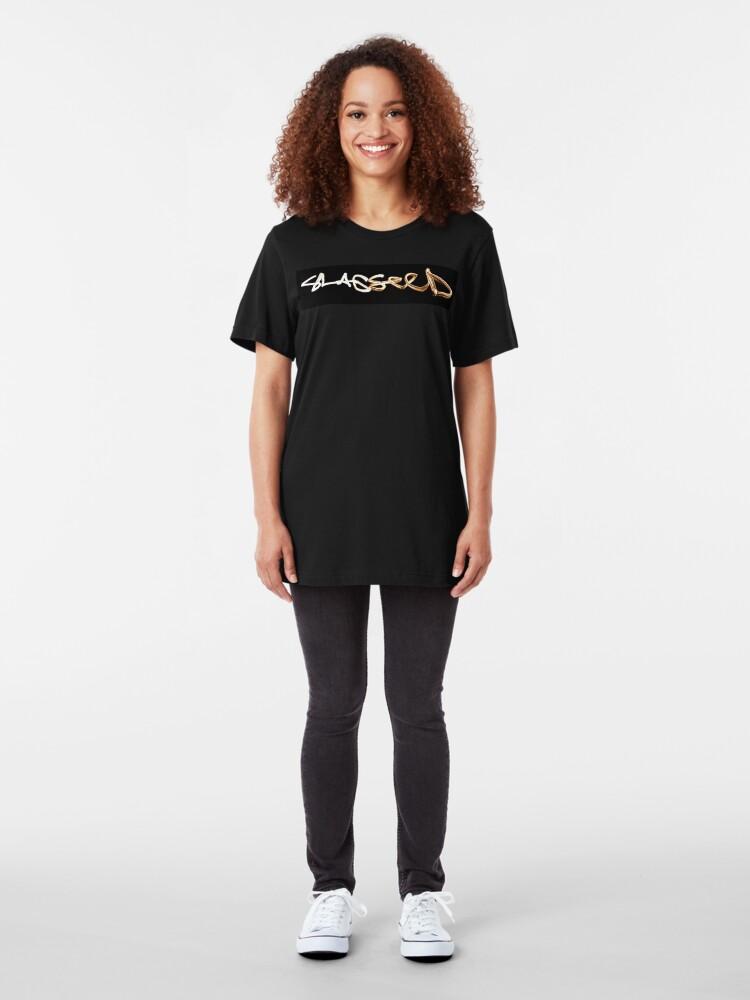 Alternate view of LOGO choe 2 Slim Fit T-Shirt