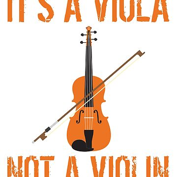 No It's Not A Violin - Alto Clef - Viola Gifts by dealzillas