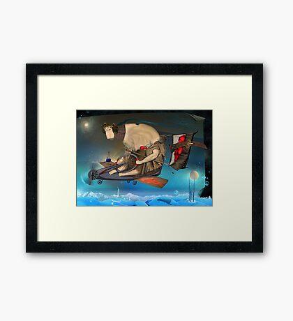 Heart Thief Framed Print
