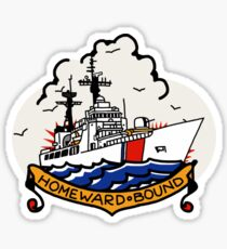Coast Guard 378 Homeward Bound Sticker