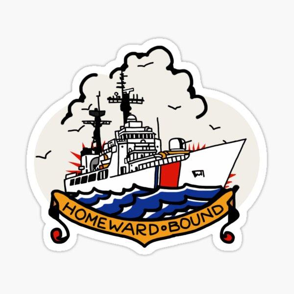 Coast Guard 378 Homeward Bound Sticker