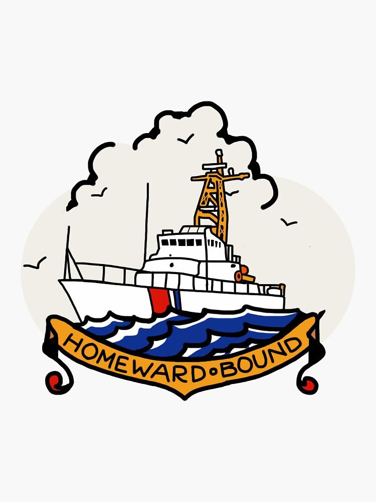 Coast Guard 110 Homeward Bound  by AlwaysReadyCltv