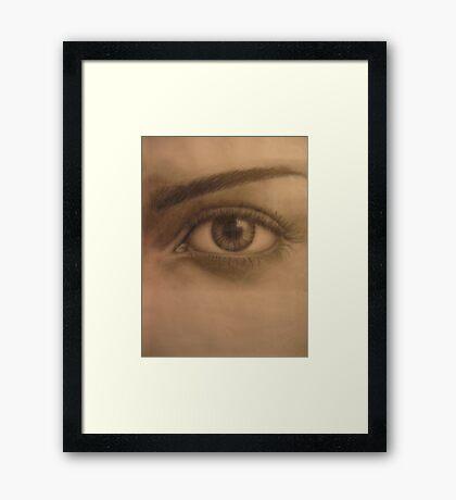 SEEPIA Framed Print