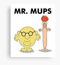 Mr. Mups Canvas Print