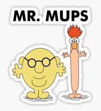 Mr. Mups Sticker