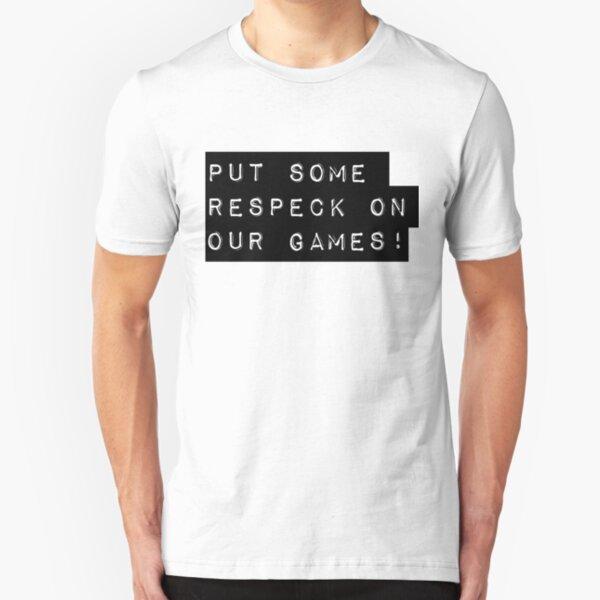 Respeck! Slim Fit T-Shirt