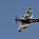 Spitfire over Temora by bazcelt