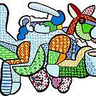 Weltraum-Känguru von Mark Daniel