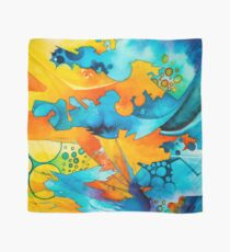 Are They Unicorns or Horniecornies? - Watercolor Painting Scarf