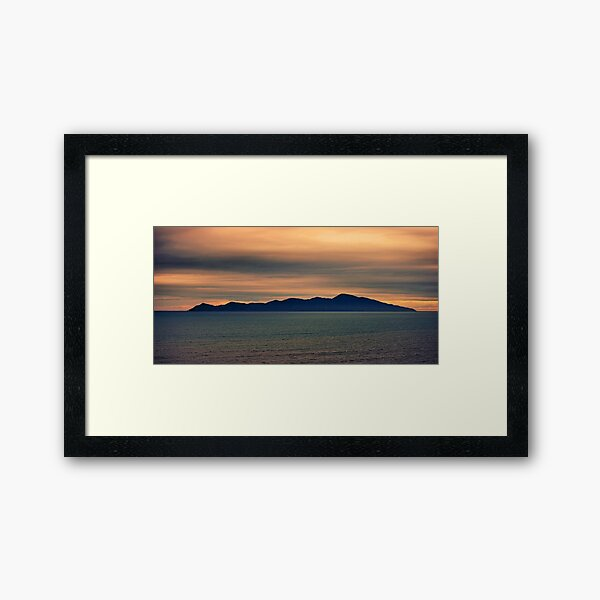 Kapiti at Dusk Framed Art Print